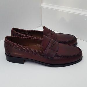 Allen Edmonds Rye leather penny loafer 10 E